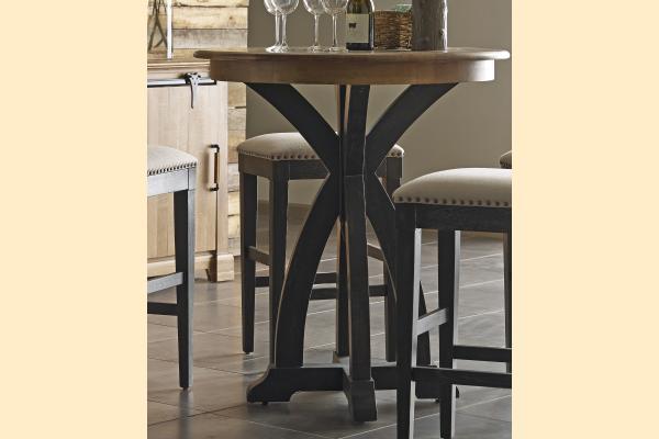 Kincaid Stone Ridge Round Tall Tasting Table