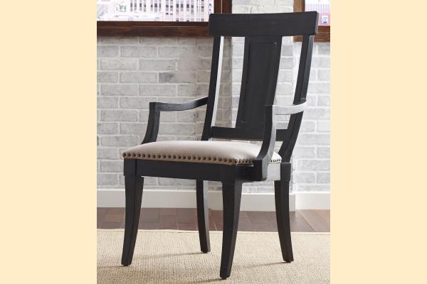 Kincaid Stone Ridge Arm Chair-Black