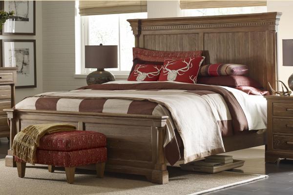 Kincaid Stone Ridge Ardennes Queen Panel Bed