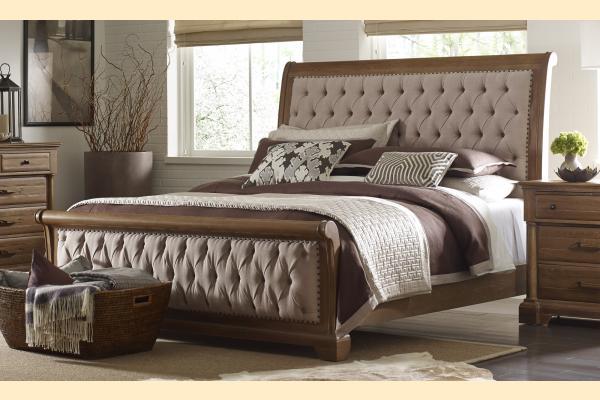 Kincaid Stone Ridge Colusa Queen Sleigh Bed