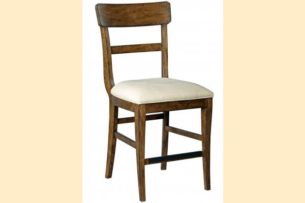 Kincaid The Nook-Maple Counter Height Side Chair w/ Upholstered Seat