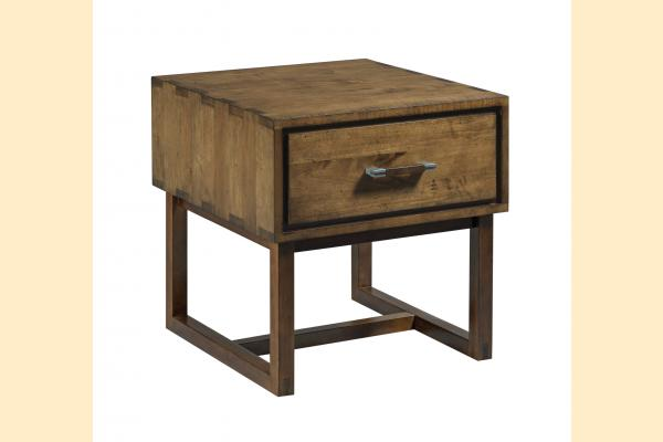 Kincaid Traverse Woodworker Drawer End Table
