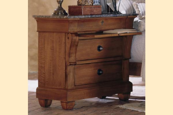 Kincaid Tuscano Bedside Chest w/ Marble Top
