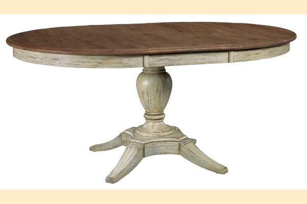 Kincaid Weatherford Milford Round Dining Table w/ One 18
