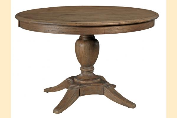 Kincaid Weatherford-Heather Milford Round Dining Table w/ One 18