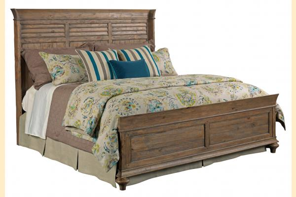Kincaid Weatherford-Heather Cal-King Shelter Bed