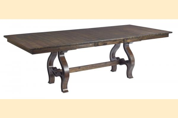 Kincaid Wildfire Trestle Dining Table w/ 2 20