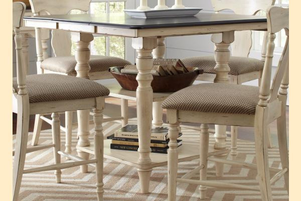 Largo Bristol Cottage Rectangular Counter Height Table w/ Leaf