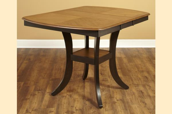 Largo Bungalow Rectangular Counter Height Table Includes One 11.75