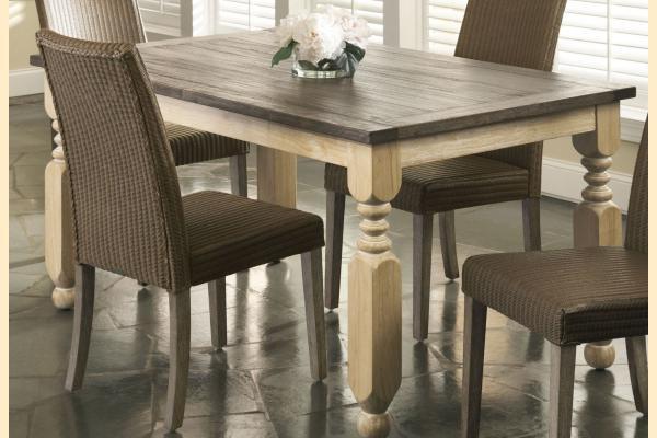 Largo Coronado Rectangular Turned Leg Table