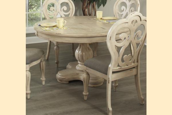 Largo Devonshire Round Pedestal Table
