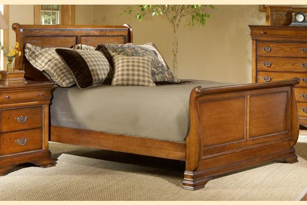 Largo Shenandoah Full Size Sleigh Bed