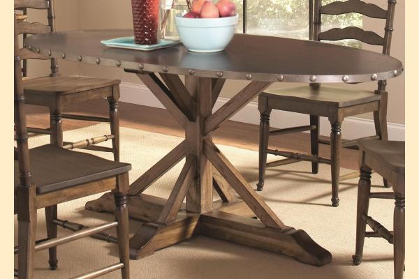 Largo Lance Oval Table