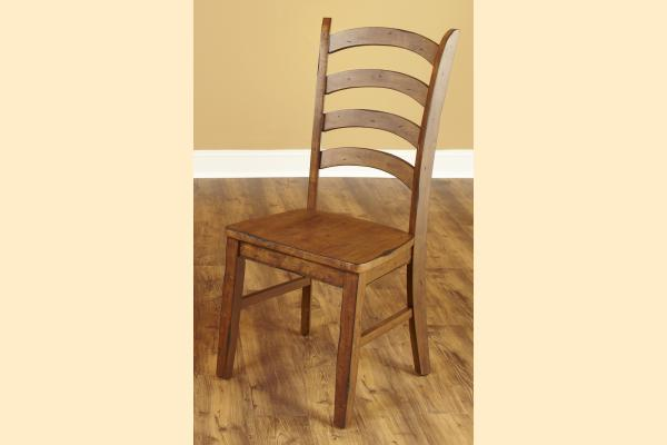 Largo Overland Ladder Back Side Chair