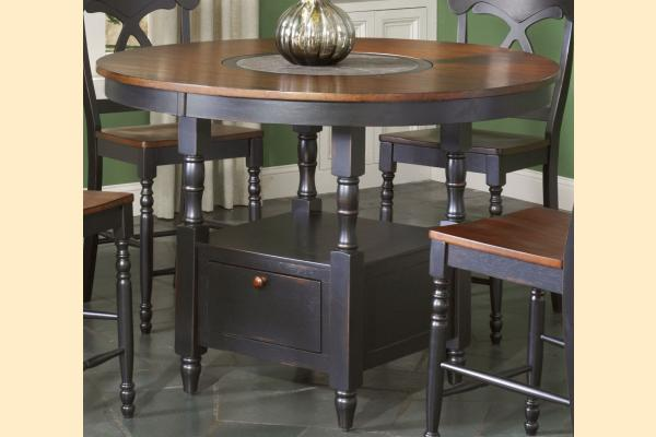 Largo Phillip Counter Height Table w/ Lazy Susan