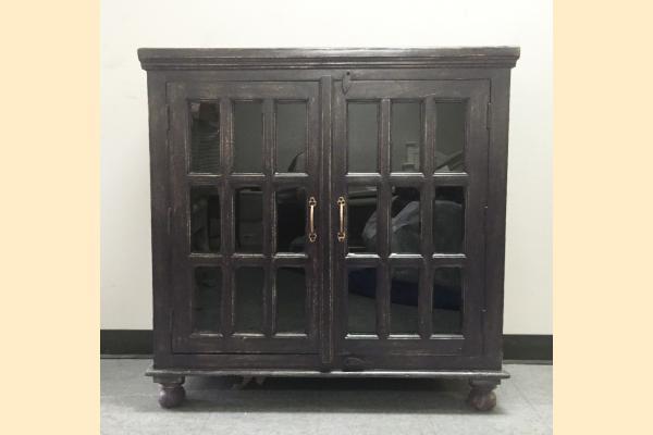 Largo Rustic Collectibles 2 Door Sideboard-Weathered Black