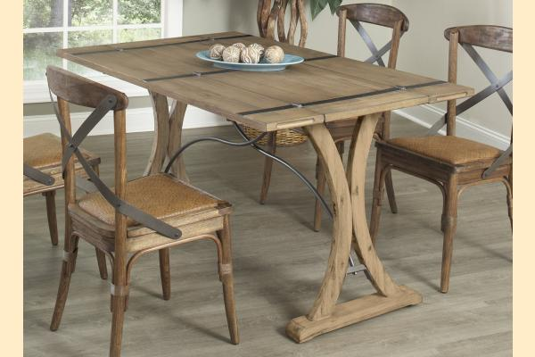 Largo Sonoma Folding Top Dining Table