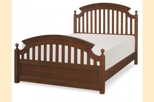 Legacy Kids Academy-Cinnamon Full Panel Bed