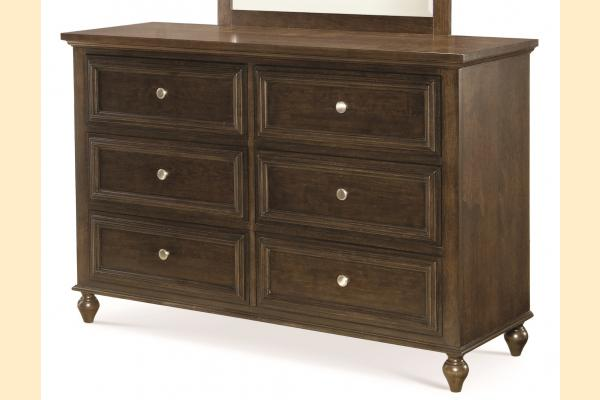 Legacy Kids Academy-Molasses 6 Drawer Dresser