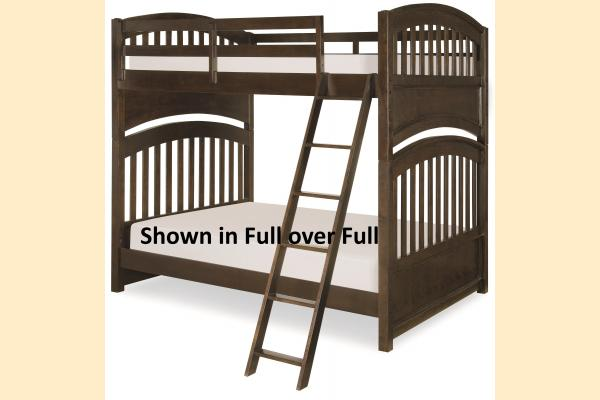 Legacy Kids Academy-Molasses Twin Bunk Bed
