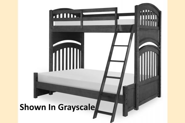Legacy Kids Academy-Molasses Twin over Full Bunk Bed