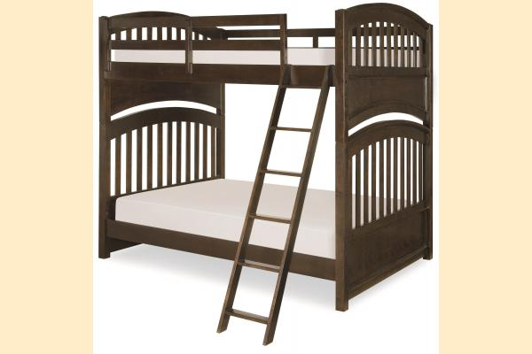 Legacy Kids Academy-Molasses Full over Full Bunk Bed