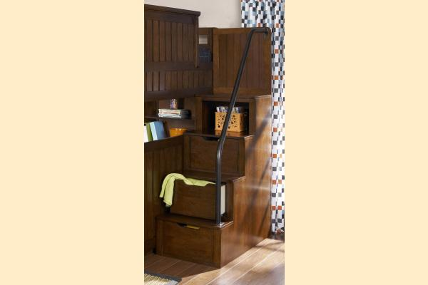 Legacy Kids Dawson's Ridge Bunk/Loft Storage Steps