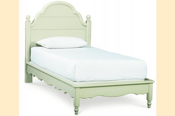 Legacy Kids Inspirations-Seashell White Twin Westport Platform Bed