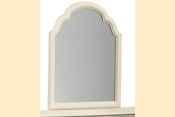 Legacy Kids Inspirations-Seashell White Portrait Mirror