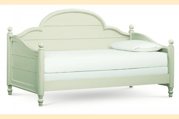 Legacy Kids Inspirations-Seashell White Westport Panel Daybed