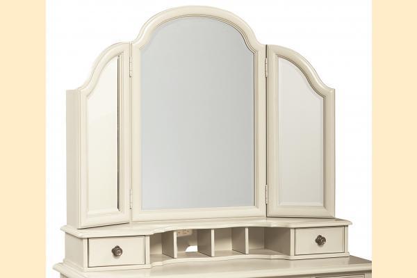 Legacy Kids Inspirations-Seashell White Vanity Mirror
