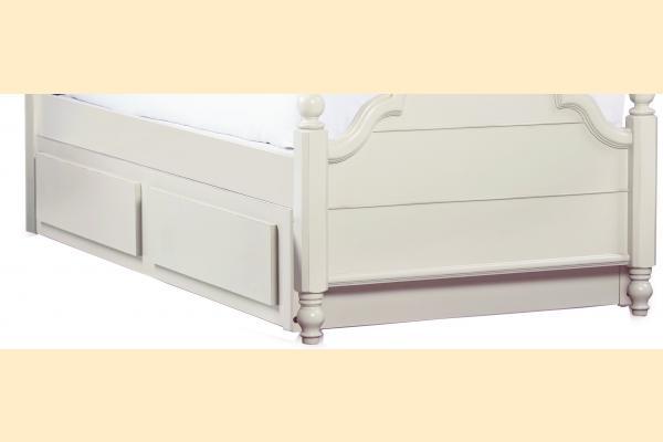 Legacy Kids Inspirations-Seashell White Trundle/Storage Drawer