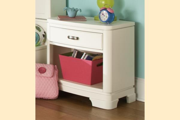 Legacy Kids Park City White Night Stand
