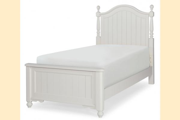Legacy Kids Summerset Twin Low Poster Bed