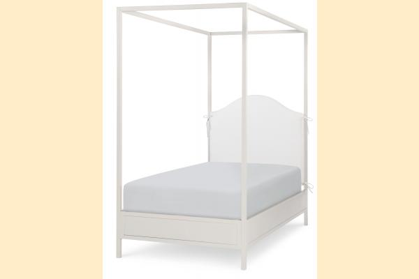Legacy Kids Summerset Twin Metal Canopy Bed