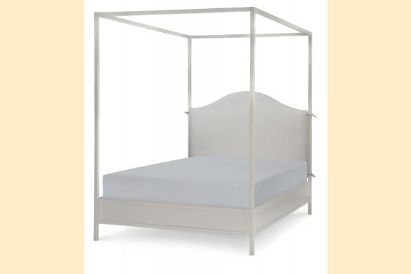 Legacy Kids Summerset-Taupe Full Metal Canopy Bed