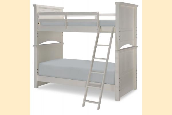 Legacy Kids Summerset-Taupe Twin over Twin Bunk Bed