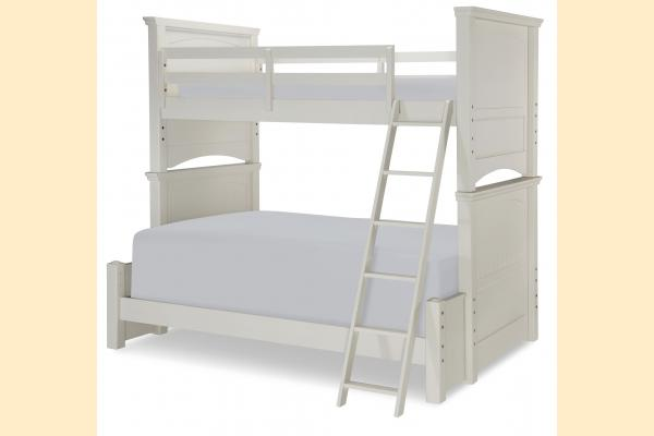 Legacy Kids Summerset-Taupe Twin over Full Bunk Bed