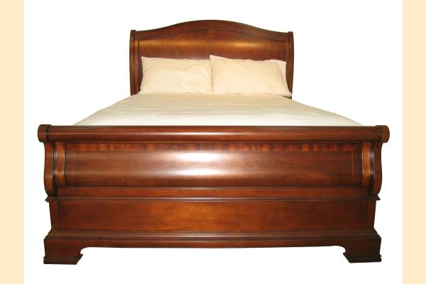 Legacy Evolution King Sleigh Bed