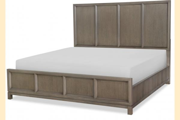 Legacy High Line Cal-King Panel Bed