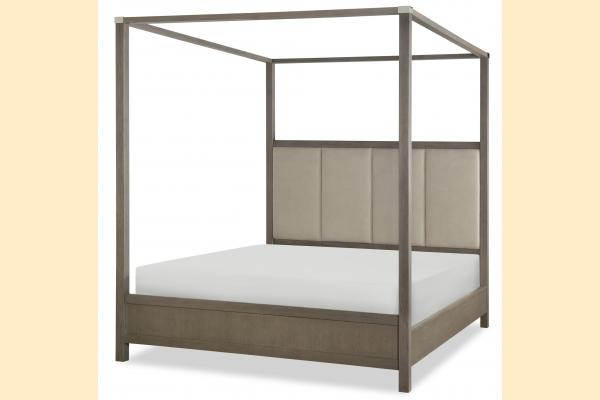 Legacy High Line King Upholstered Poster Bed