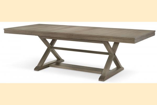 Legacy High Line Trestle Table w/ One 24 Inch Leaf