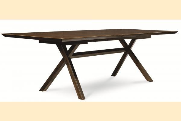 Legacy Kateri Trestle Table w/ 16 Inch Leaf