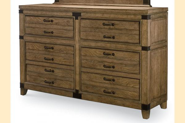 Legacy Metalworks 6 Drawer Dresser