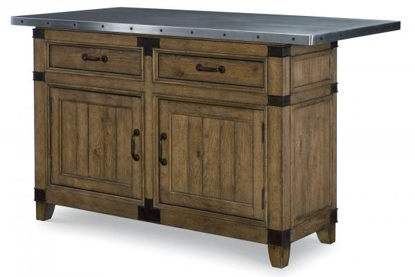 Legacy Metalworks Kitchen Island