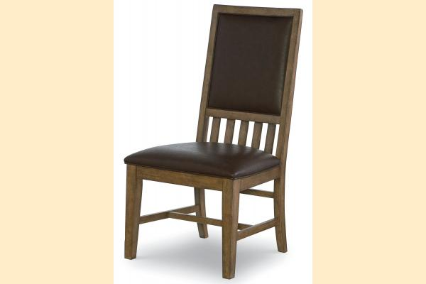 Legacy Metalworks Upholstered Back Side Chair