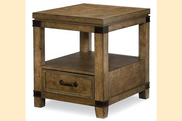Legacy Metalworks End Table