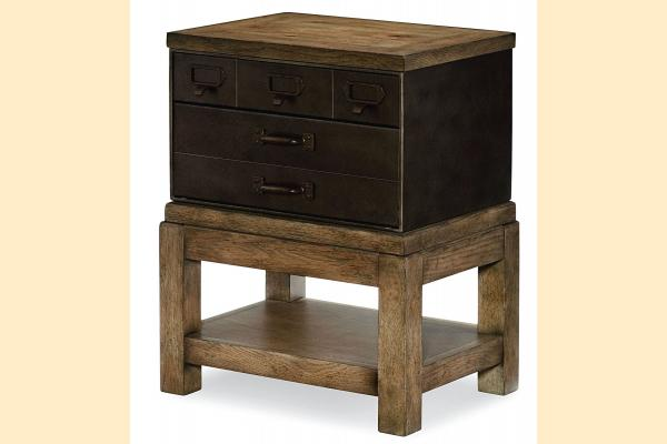 Legacy Metalworks Toolbox End Table
