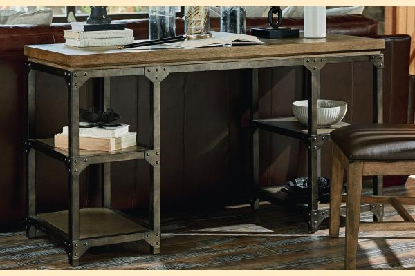 Legacy Metalworks Writing Desk