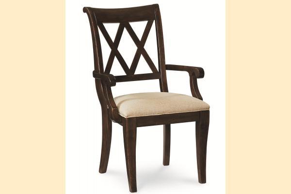 Legacy Thatcher X Back Arm Chair